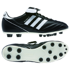 adidas Kaiser 5 Liga FG Soccer Shoes (Black/White)