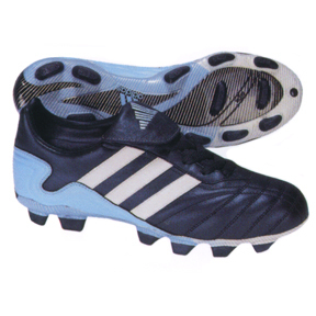 adidas Womens Volea TRX FG Soccer Shoes (Marine Blue/White)