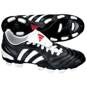 adidas Womens Pulsado 2 TRX FG Soccer Shoes (Black/White)
