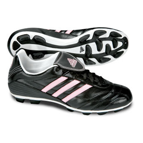 adidas Womens Matteo VII TRX Soccer Shoes (Black/Diva Pink)