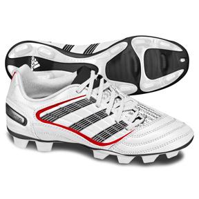 adidas Womens Absolado_X TRX FG Soccer Shoes (White/Black)