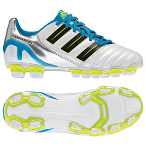 adidas Youth Predator Absolado TRX FG Soccer Shoes (White)