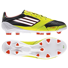 adidas F50 adiZero Leather TRX FG Soccer Shoes (Phantom)
