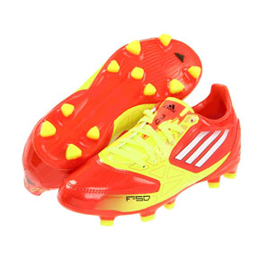 adidas Youth F10 TRX FG Soccer Shoes (Energy)