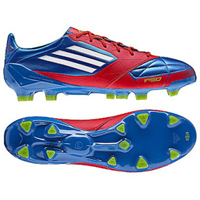 adidas  F50 adiZero Leather TRX FG Soccer Shoes (Prime Blue)