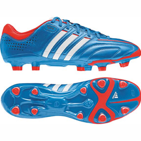 adidas adiPure  11Pro TRX FG Soccer Shoes (Bright Blue)
