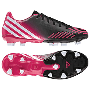 adidas Womens  Predator Absolado LZ TRX FG Soccer Shoes (Pink)