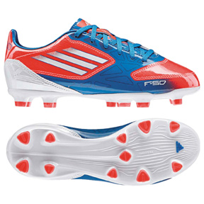 adidas Youth F10 TRX FG Soccer Shoes (Infrared)