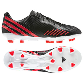 adidas Predator  LZ TRX FG Soccer Shoes (Black/Pop)