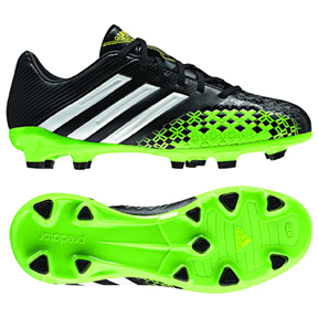 adidas Youth Predator Absolado LZ TRX FG Soccer Shoes (Black)