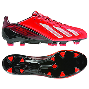 adidas F50 adiZero Leather TRX FG Soccer Shoes (Infrared)