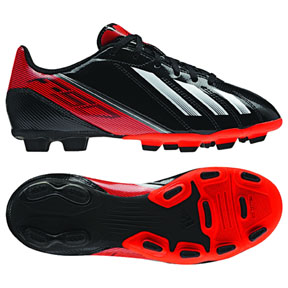 adidas Youth F5 TRX FG Soccer Shoes (Black/Red)