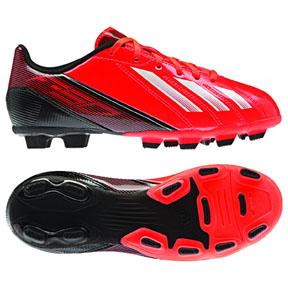 adidas Youth F5 TRX FG Soccer Shoes (Red/Black)