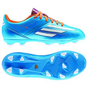 adidas Youth F10 TRX FG Soccer Shoes (Solar Blue)