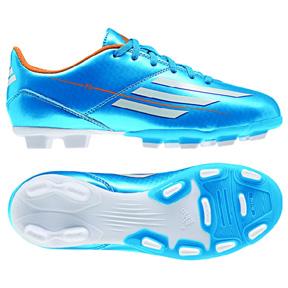 adidas Youth F5 TRX FG Soccer Shoes (Solar Blue)