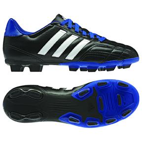 adidas Youth Goletto IV TRX FG Soccer Shoes (Black/White/Blue)
