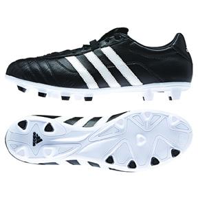 adidas Gloro FG Soccer Shoes (Black/White)