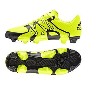 adidas Youth X 15.3 TRX FG Soccer Shoes (Solar Yellow)