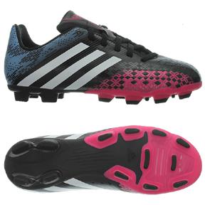 adidas Womens Predito LZ TRX FG Soccer Shoes (Black/Pink)
