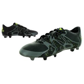 adidas X 15.3 TRX FG/AG Soccer Shoes (Charcoal)