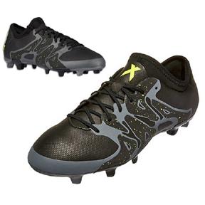 adidas  X 15.2 TRX FG/AG Soccer Shoes (Charcoal)