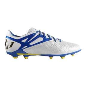 adidas Lionel Messi 15.2 TRX FG Soccer Shoes (White/Blue)
