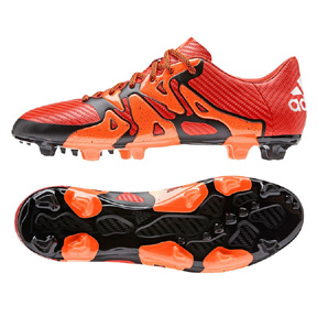 adidas X 15.3 TRX FG/AG Soccer Shoes (Solar Orange)