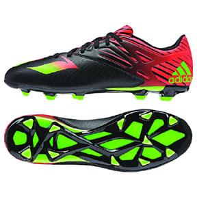 adidas Lionel Messi 15.3 TRX FG/AG Soccer Shoes (Black/Red)