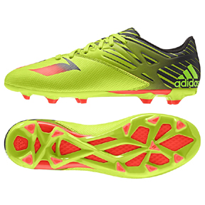 adidas Lionel Messi 15.3 TRX FG/AG Soccer Shoes (Slime)
