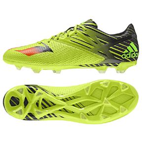 adidas Lionel Messi 15.2 TRX FG Soccer Shoes (Slime)