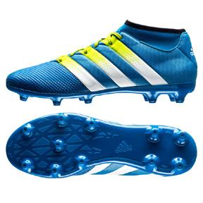 adidas  ACE 16.3 PrimeMesh FG/AG Soccer Shoes (Blue)