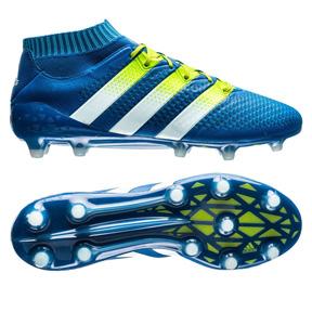 adidas  ACE 16.1 Primeknit FG Soccer Shoes (Blue)