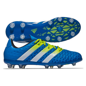 adidas Youth  ACE 16.1 FG/AG Soccer Shoes (Blue)