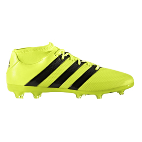 adidas  ACE 16.2  PrimeMesh FG/AG Soccer Shoes (Solar Yellow/Black)