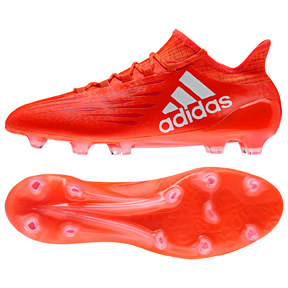 adidas X 16.1 FG Soccer Shoes (Solar Red/Silver)