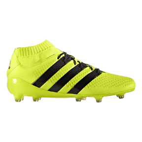 adidas  ACE 16.1  Primeknit FG Soccer Shoes (Solar Yellow/Black)