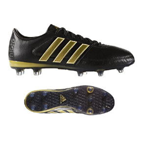 adidas  Gloro  16.1 FG Soccer Shoes (Black/Metallic Gold)