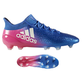 adidas   X  16.1 FG Soccer Shoes (Blue Blast/Shock Pink)