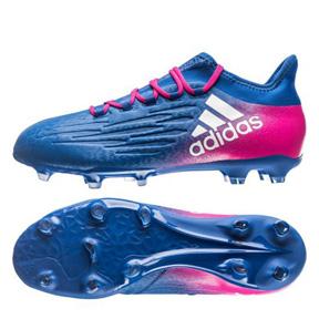 adidas   X  16.2 FG Soccer Shoes (Blue Blast/Shock Pink)