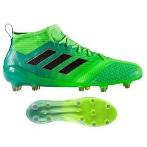 adidas  ACE  17.1 Primeknit FG Soccer Shoes (Solar Green/Core Black)