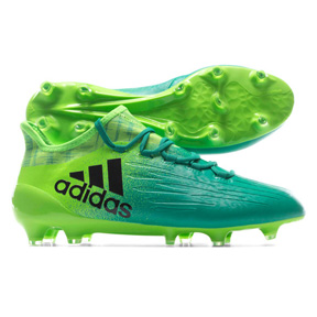 adidas X  16.1 FG Soccer Shoes (Solar Green/Black)