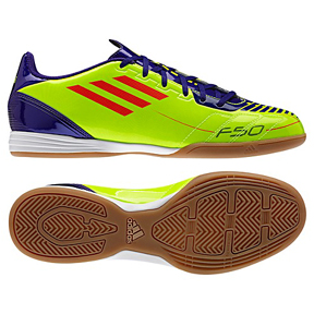 adidas Youth  F10 Indoor Soccer Shoes