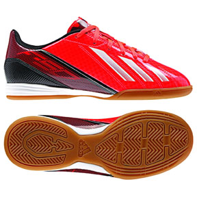 adidas Youth F10 Indoor (Infrared/White)