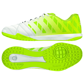adidas  FreeFootball Top Sala Indoor Soccer Shoes (White/Glow)