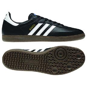 adidas Samba  Indoor Soccer Shoes (Core Black/White)