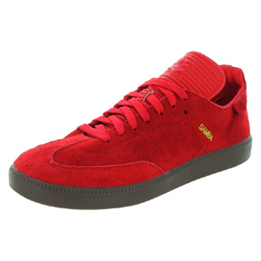 adidas  Samba MC Indoor Soccer Shoes (Red)