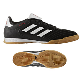 adidas Copa  17.3 Indoor Soccer Shoes (Black/White)