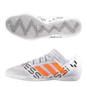 adidas  Lionel Messi  Nemeziz Tango 17.3 Indoor Shoes (White/Orange)
