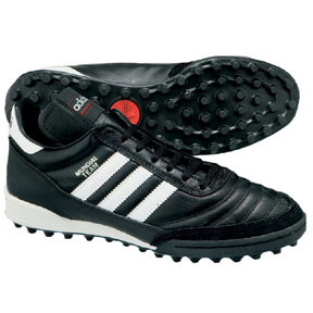 adidas Mundial Team Turf Soccer Shoes (Black/White)