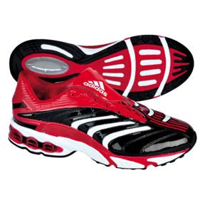 Adidas Predator Absolion TRX Turf Soccer Shoes (Black/White/Red
